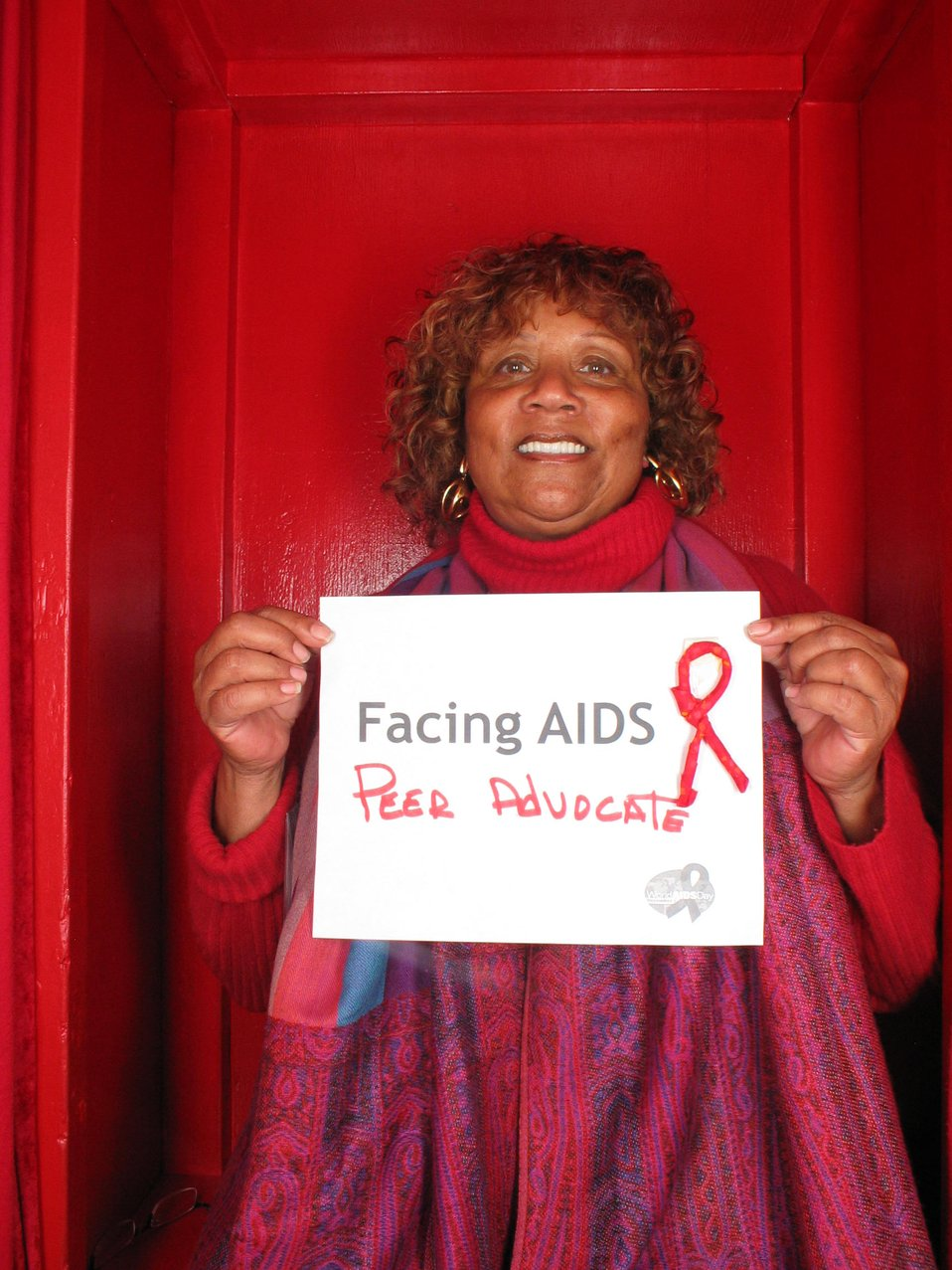 Facing AIDS Peer Advocate