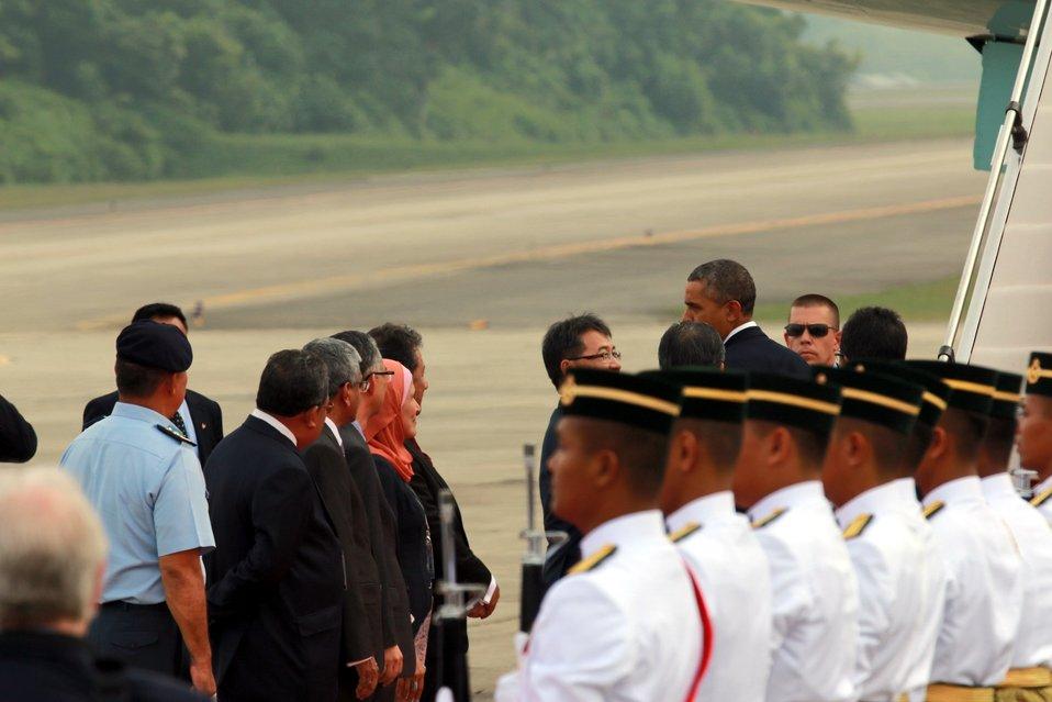 President Obama Prepares to Depart Kuala Lumpur