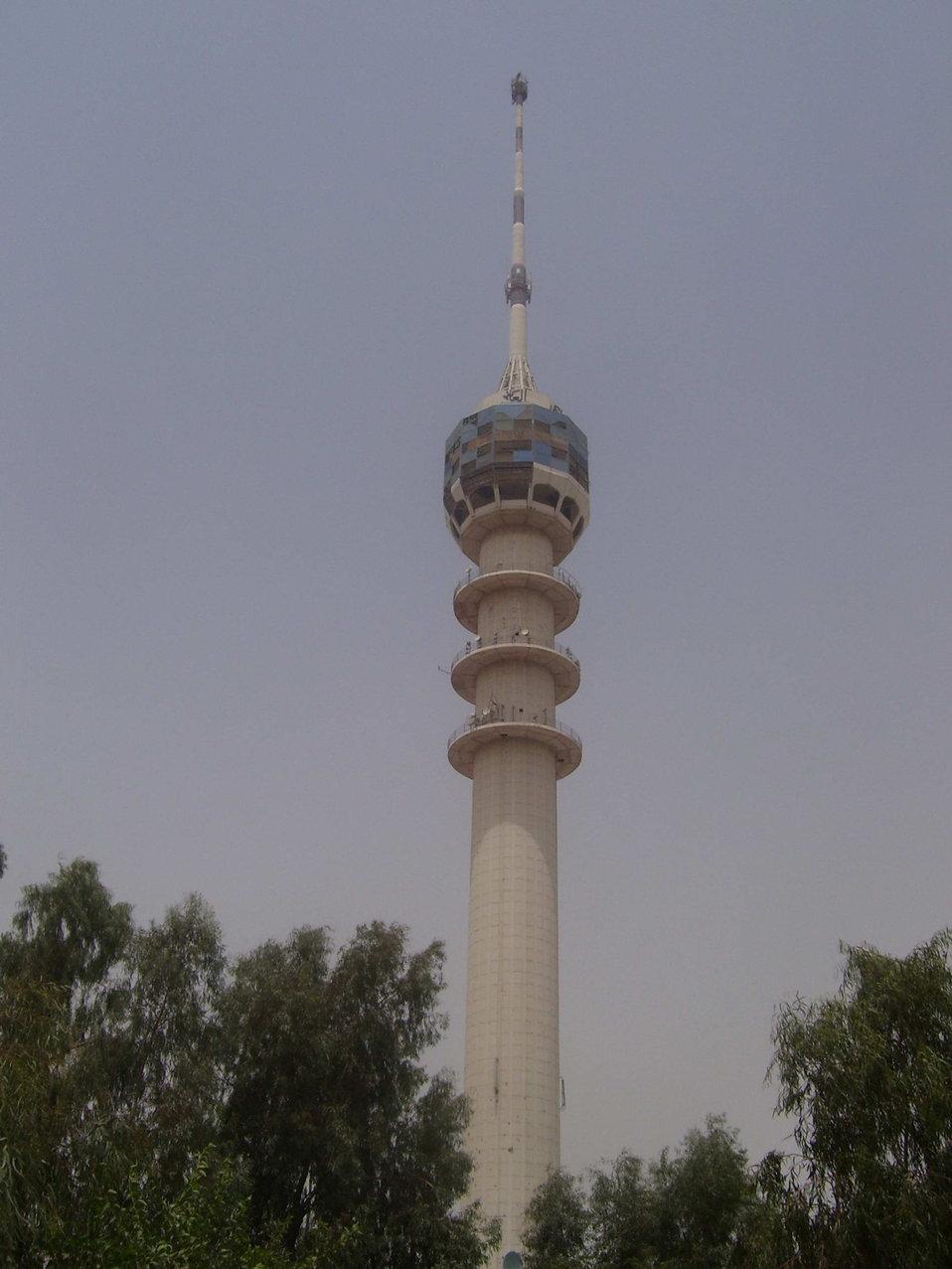 Baghdad Tower Deutsch:  Fernsehturm Bagdad