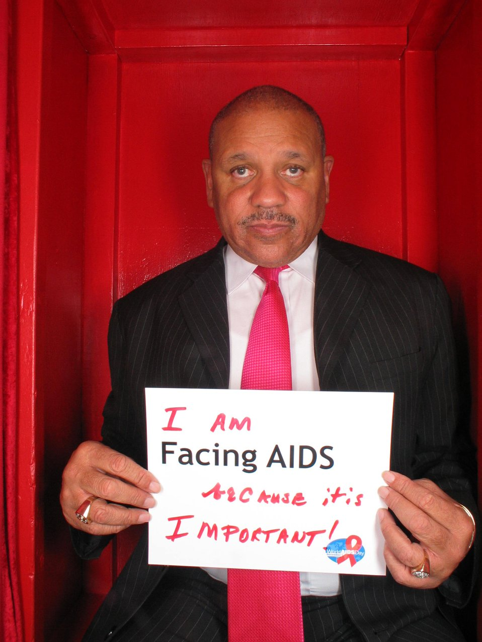 I am Facing AIDS because it is important!