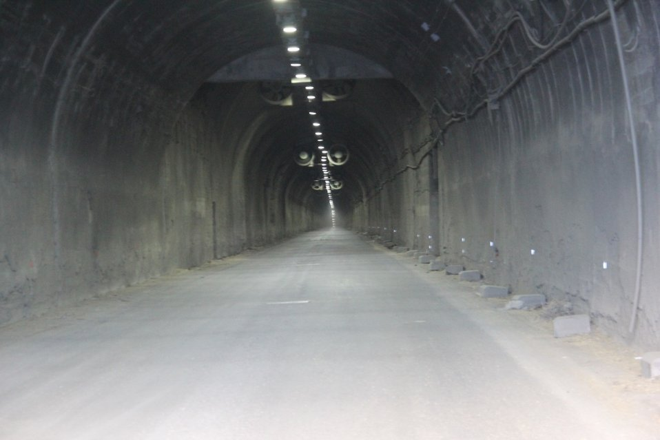 New ventilation system was installed in the Salang tunnel during the latest rehabilitation work (November 25, 2013)