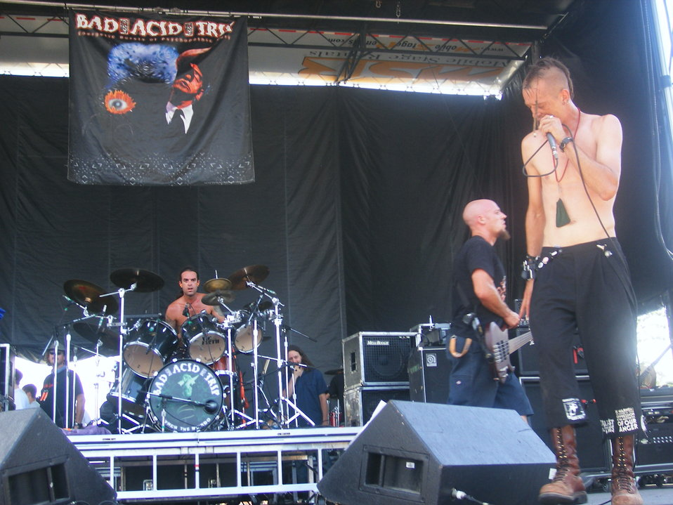 Bad Acid Trip @ Ozzfest 2006 In West Palm Beach, FL