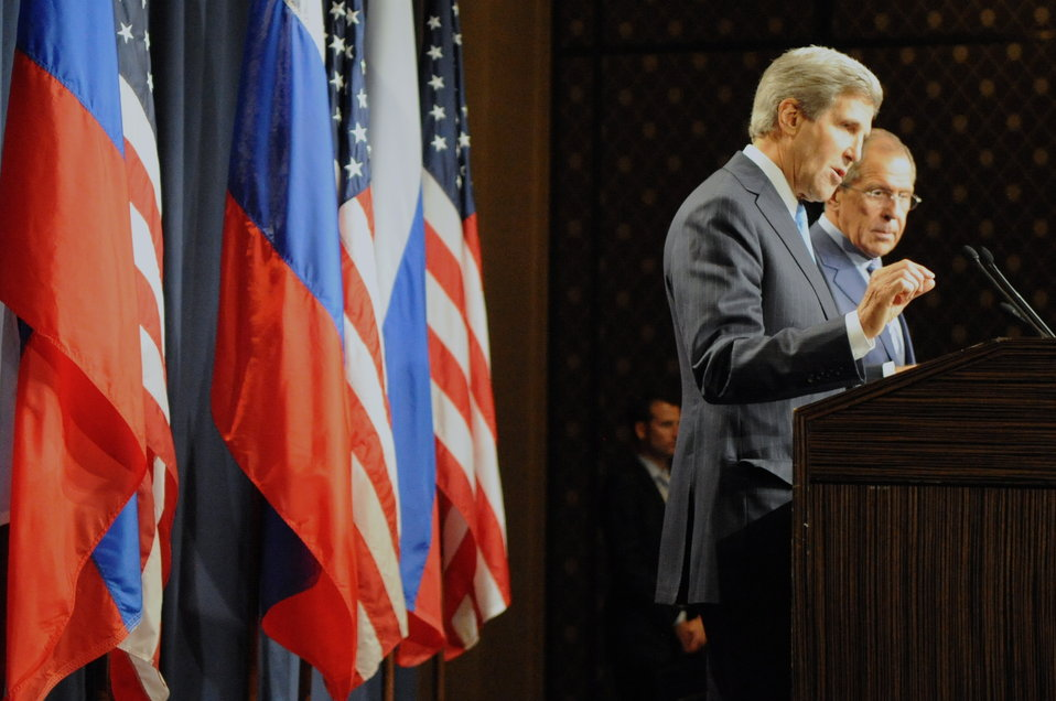 Secretary Kerry, Foreign Minister Lavrov Make Statements to Reporters