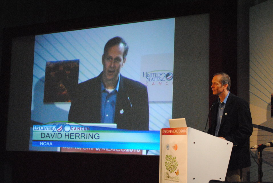 David Herring Moderates the 'Open EI Platform' Side Event
