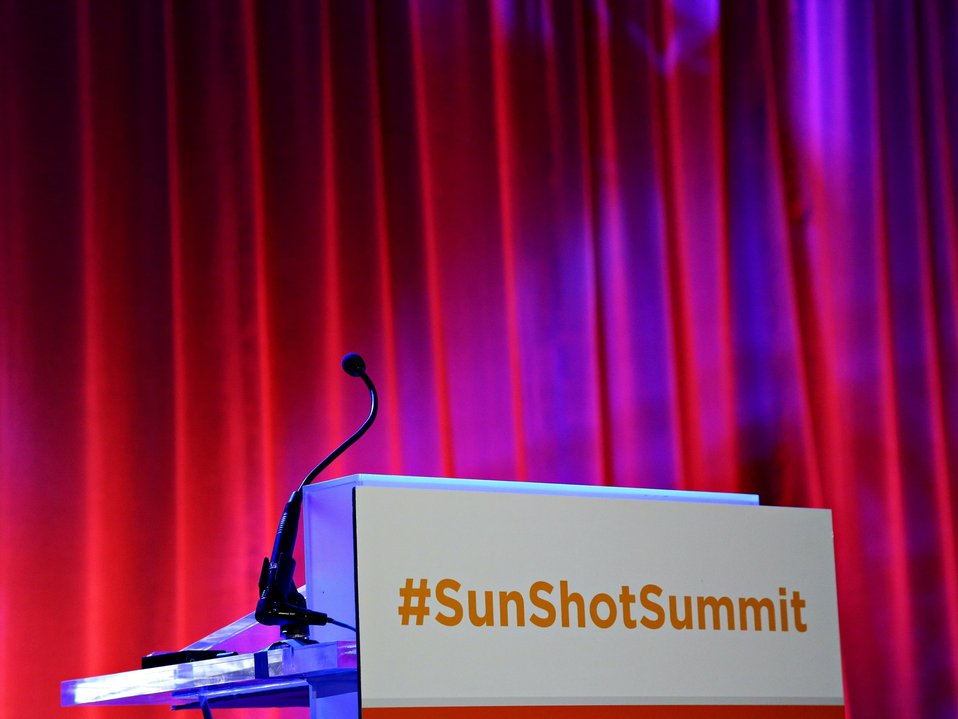 Day 2 SunShot Grand Challenge Summit