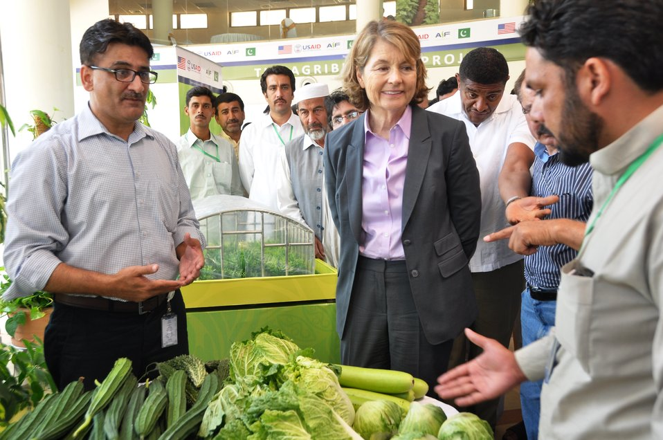 Pakistan Vegetable Fair 2014 (organized by USAID's Agribusiness Project)