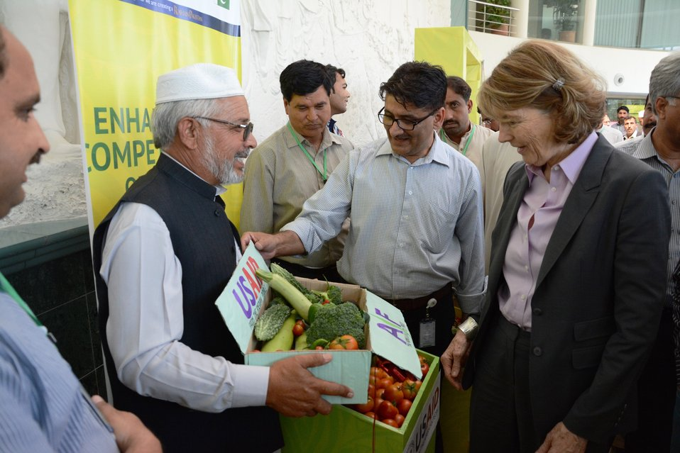 Picture (2) Pakistan vegetable Fair 2014 Islamabad May 15 2014