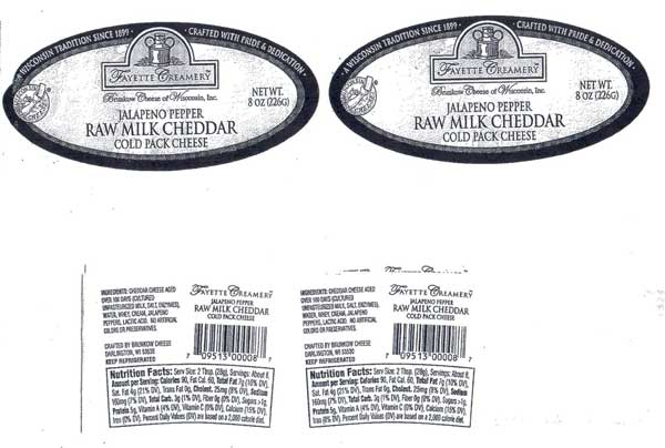 RECALLED – Cheese spread