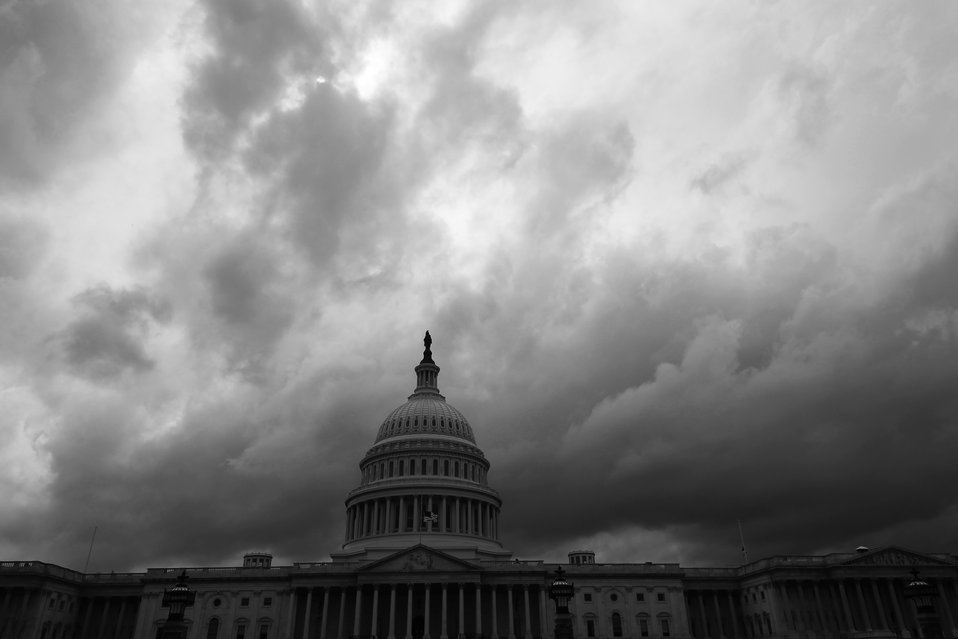 Storms Moving Into DC May 2014