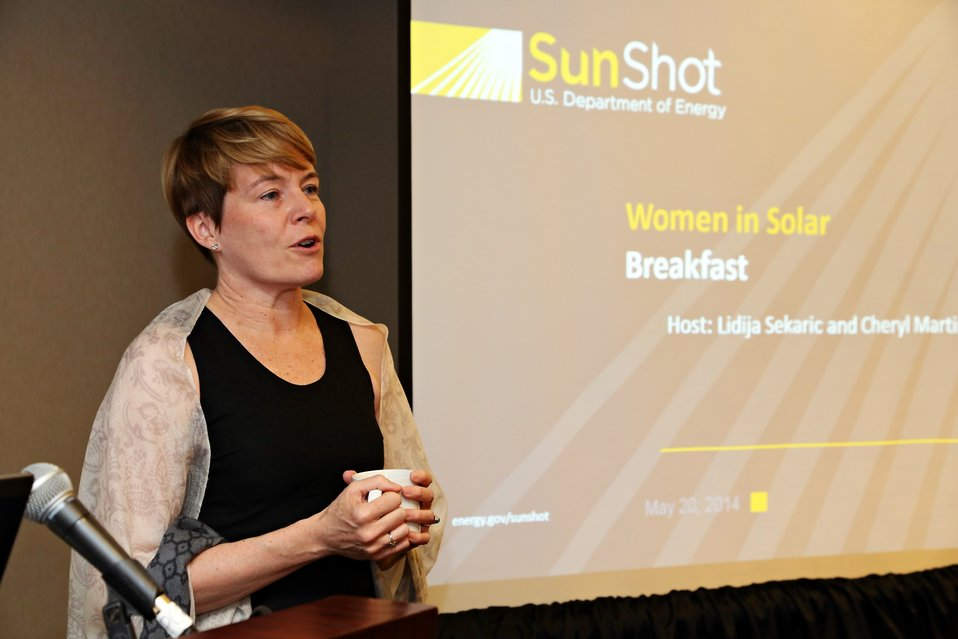 Women in Solar Breakfast 4