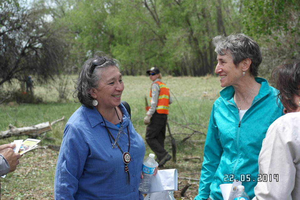 Native American Fish and Wildlife Society Meet with Interior Secretary Sally Jewell