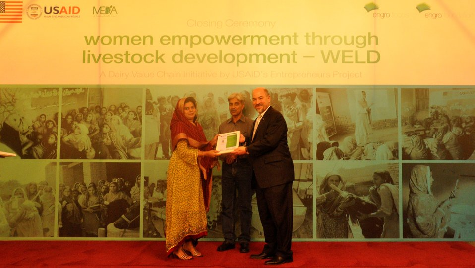 Successful completion of USAID's Entrepreneurs Project - WELD