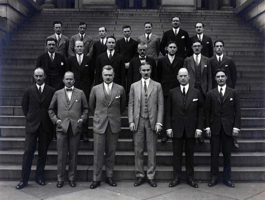 The Second Graduating Class of the U.S. Foreign Service Is Pictured in 1925