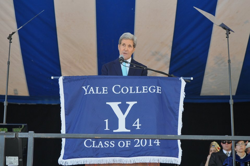 Secretary Kerry Delivers Class Day Remarks at Yale University