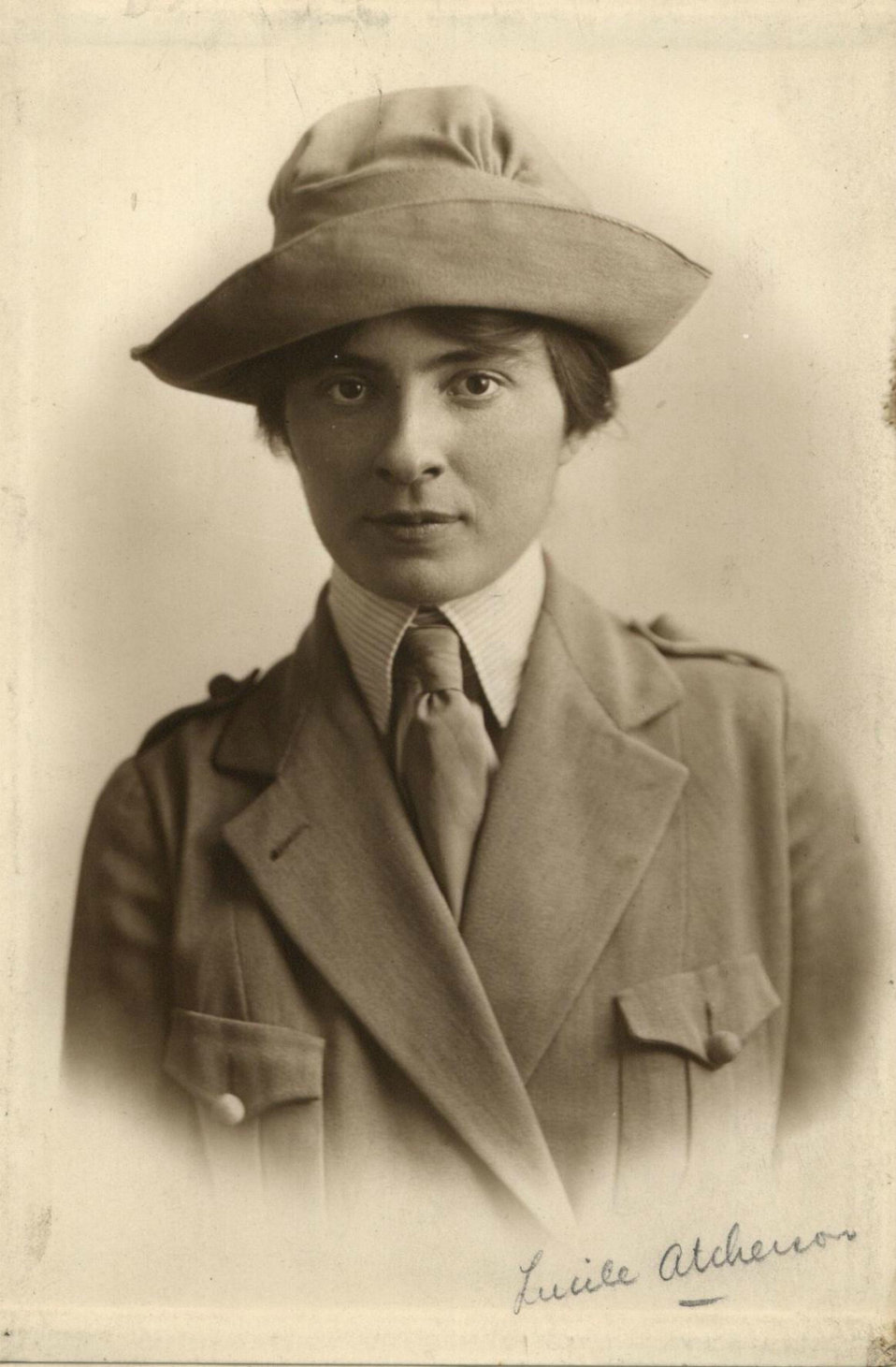 First Female American Foreign Service Officer -- Lucile Atcherson Curtis – in 1922