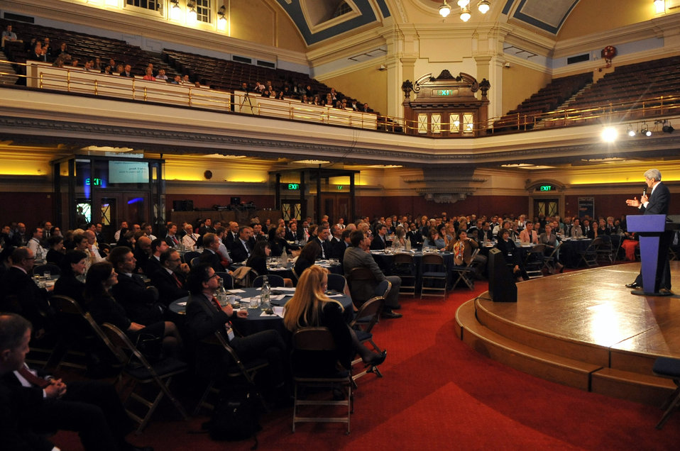 Secretary Kerry Addresses British Chiefs of Mission Conference