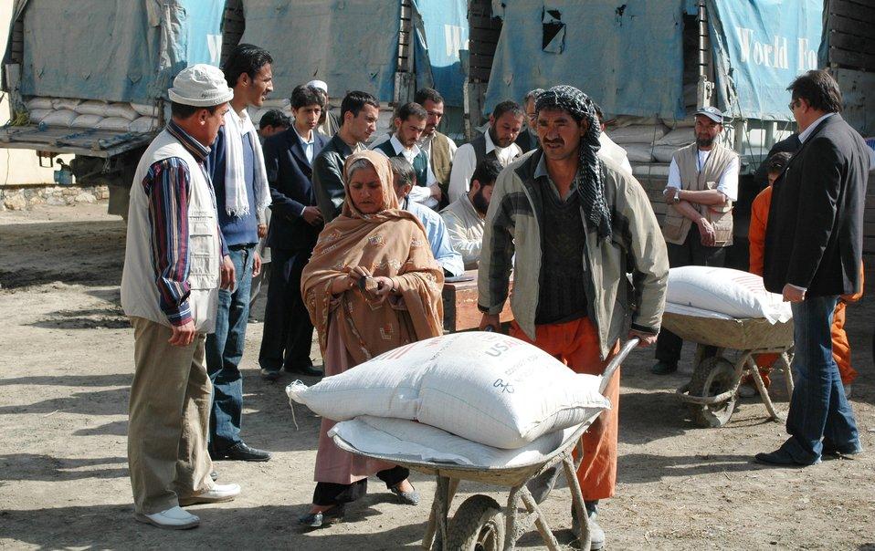 2009 WFP food distribution
