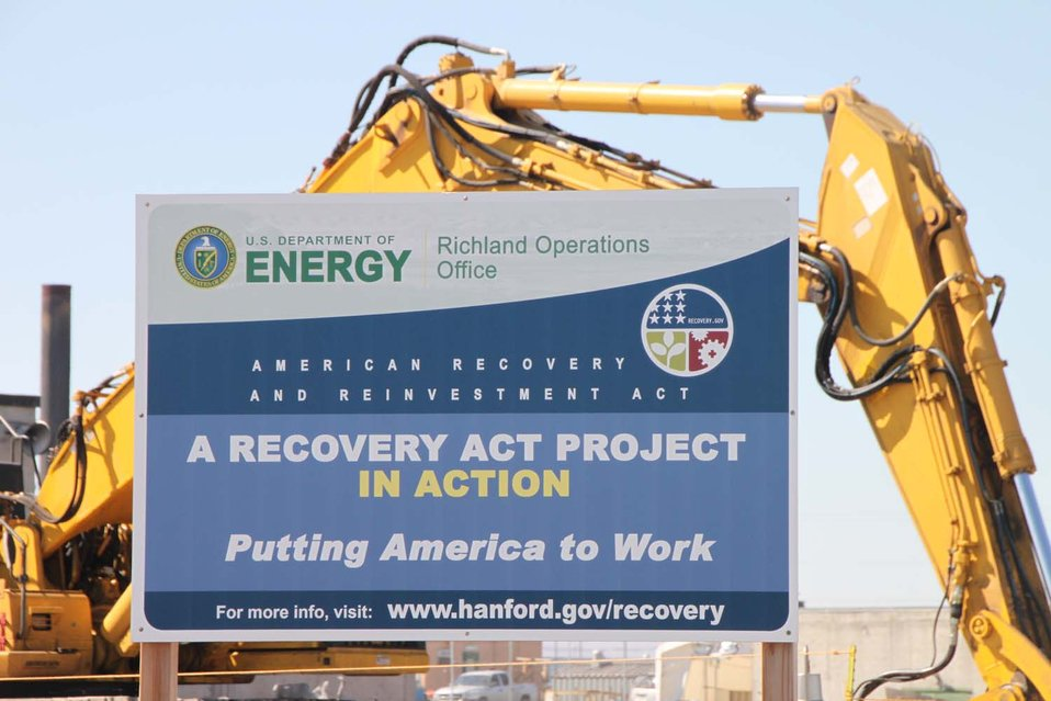 Hanford Recovery Act work