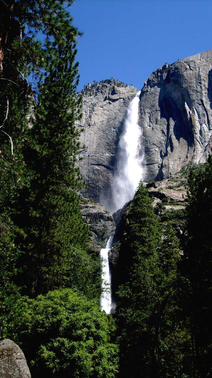 Yosemite falls, upper & lower