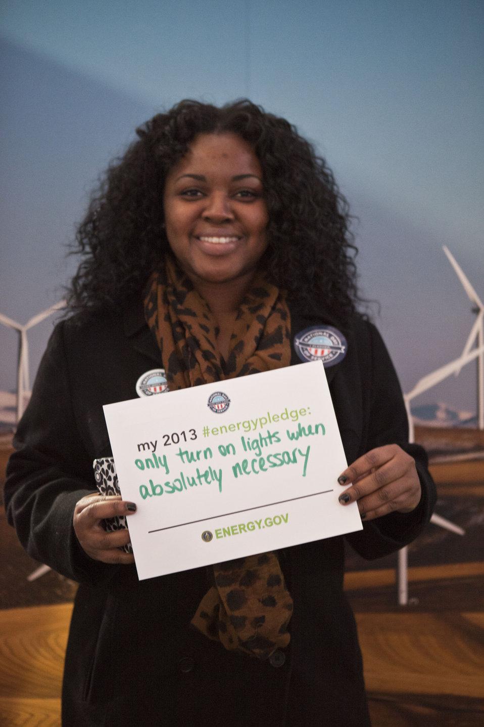What's your #energypledge?