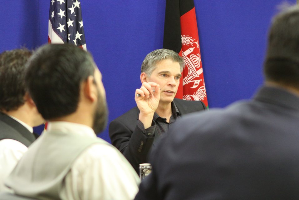 USAID Mission Director Earl Gast Conducts a Media Roundtable with Afghan Media, March 17, 2011
