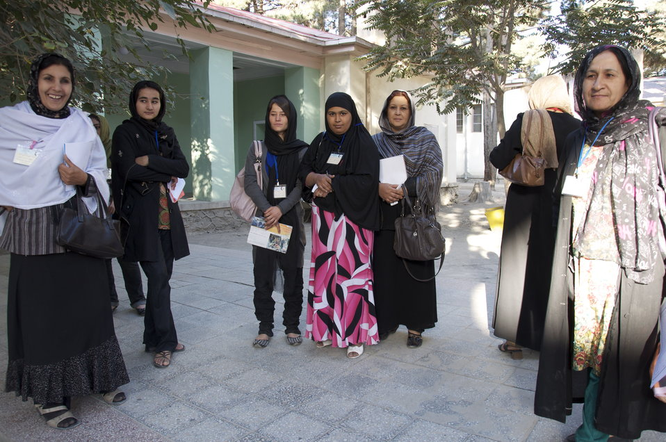 Female Election Observers in Kabul