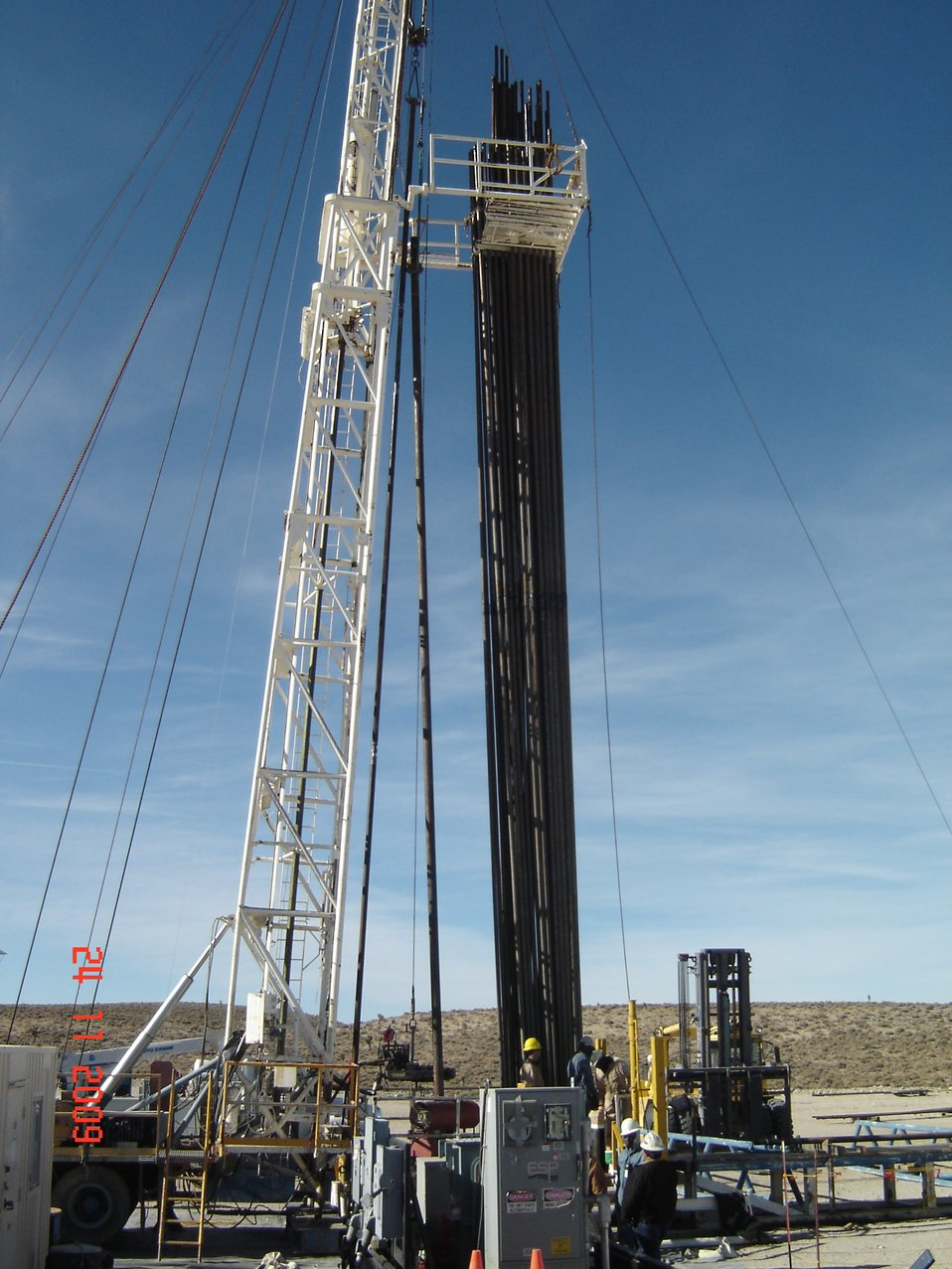 Recovery Act Accelerates Construction of Wells at NNSS