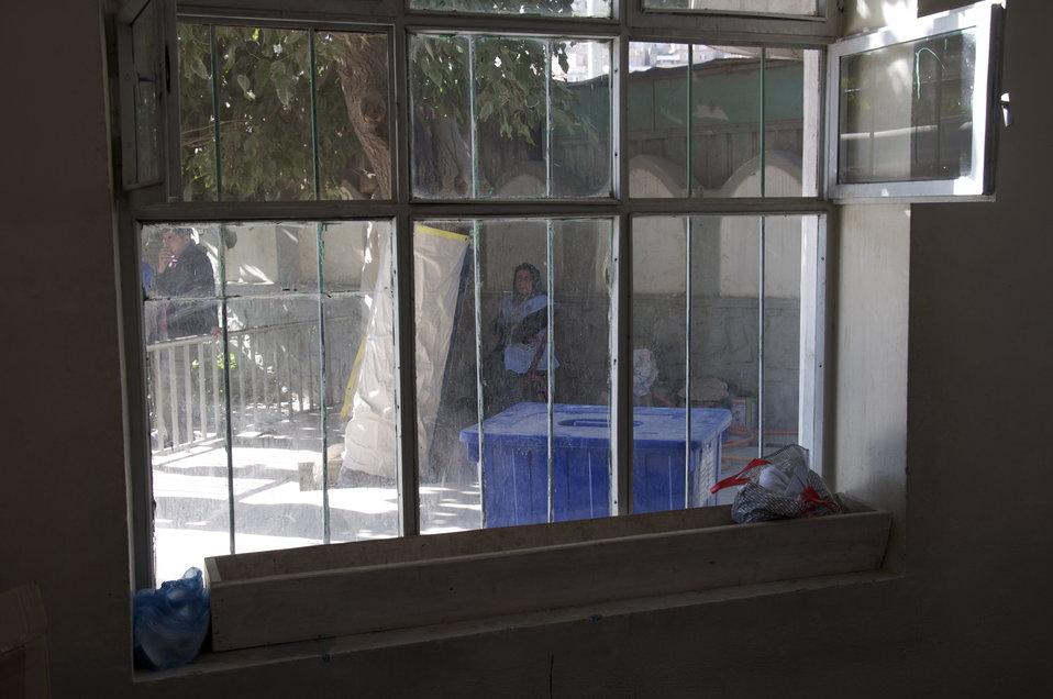Kabul Polling Center
