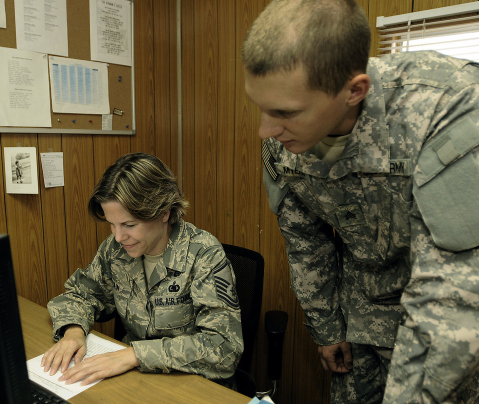 Information center to ease transition to Air Force base management