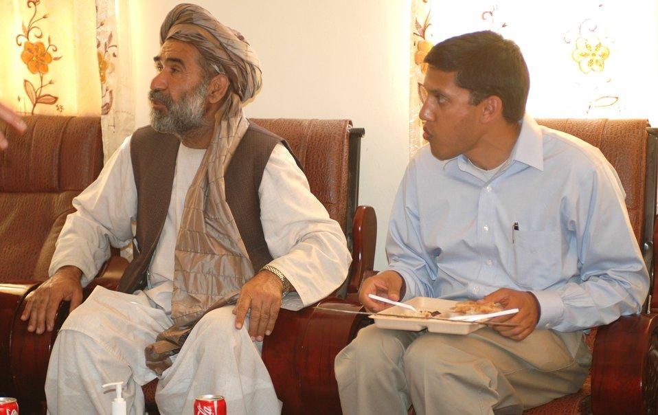 Dr Shah Visits Nangarhar April 10, 2010