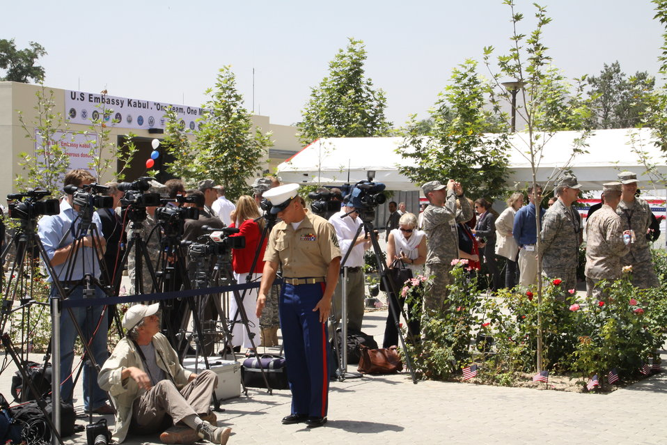 Kabul Official July 4th Celebration