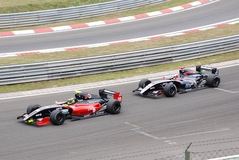 Formula sports cars at hungaroring