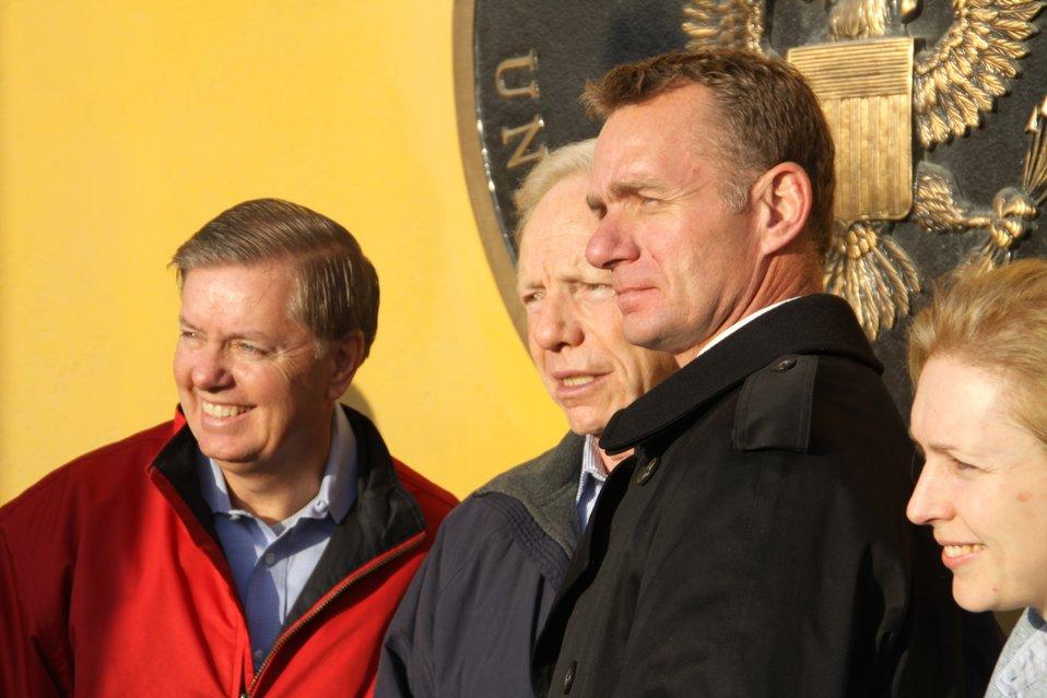 Senators Graham, Lieberman, and Gillibrand