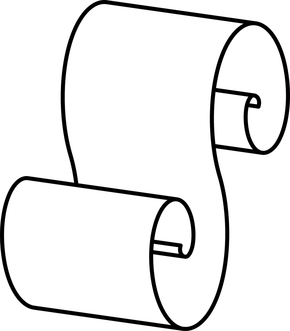 scroll - outline