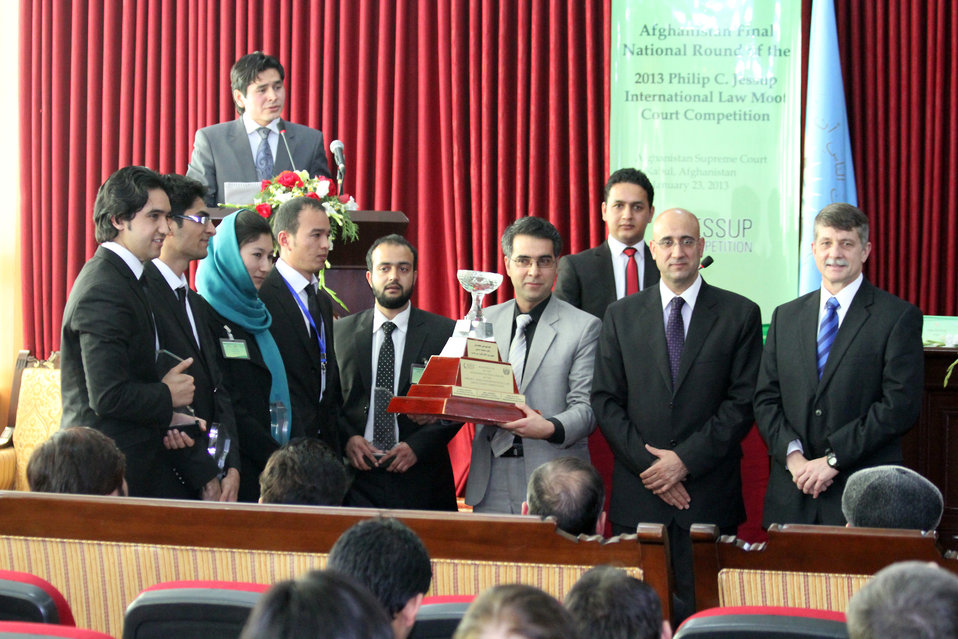 Afghanistan Final National Round of the 2013 Philip C.Jessup International Law Moot Court Competition