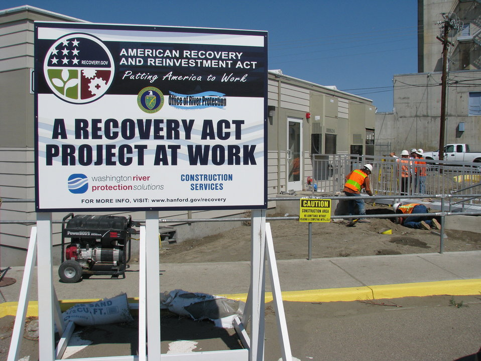 Recovery Act Program Changes the Face of Hanford's Tank Farms