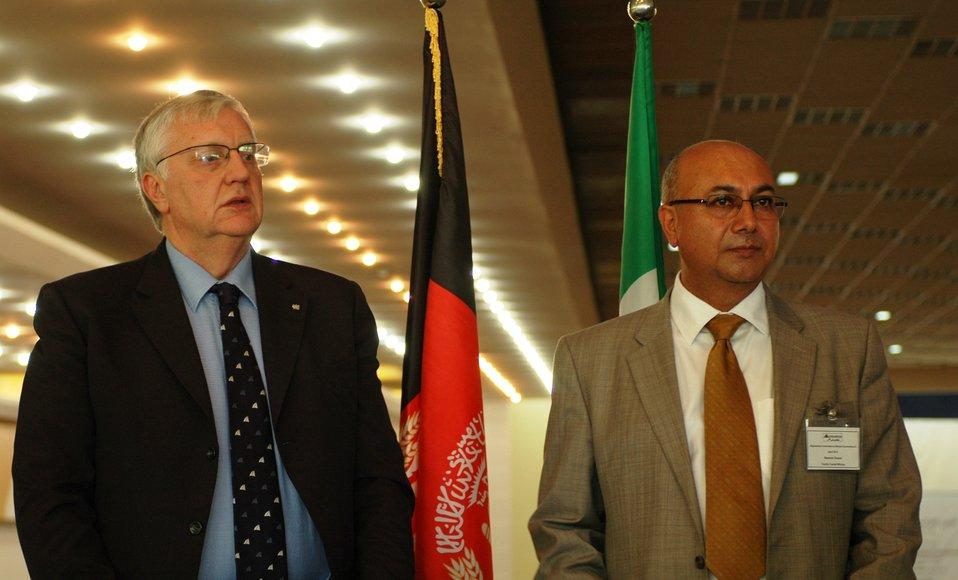Afgan and Itailian Marble Mining Association Representatives