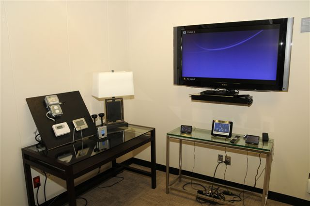 CenterPoint's in-home monitoring display
