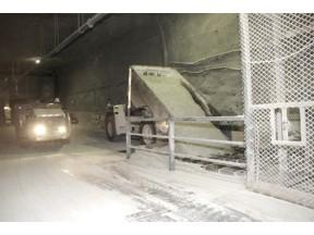 WIPP Underground Truck