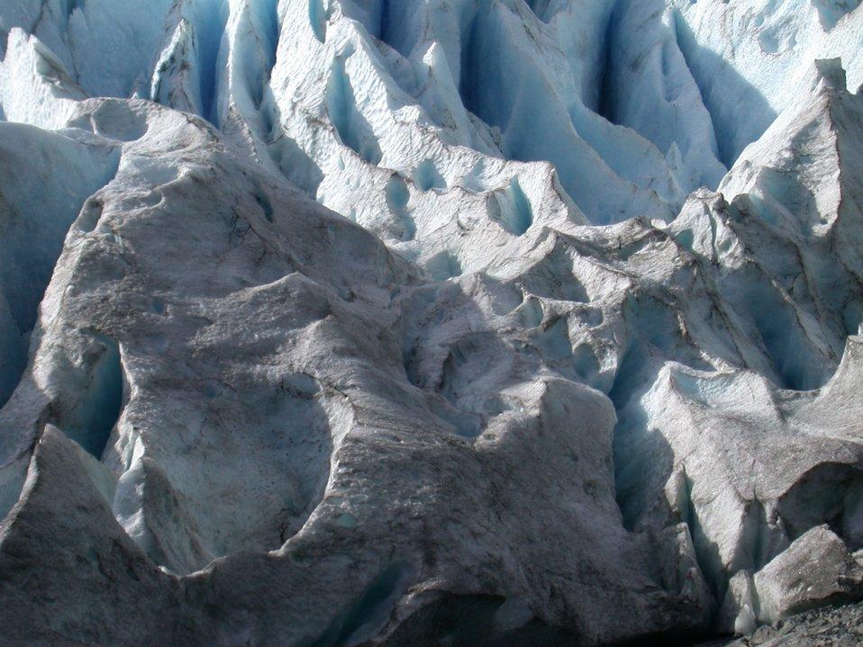 Glacier in Portage area.