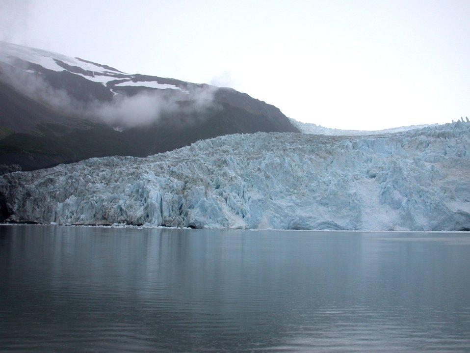 Aialik Glacier in Kenai Fjords.