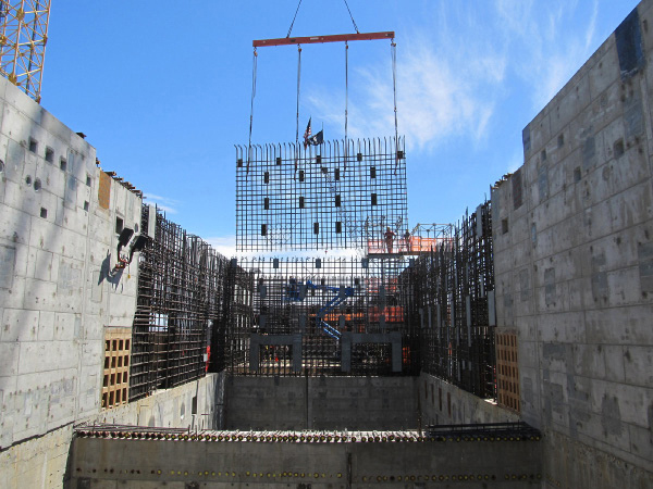 Pretreatment Rebar Curtain (July 2011)