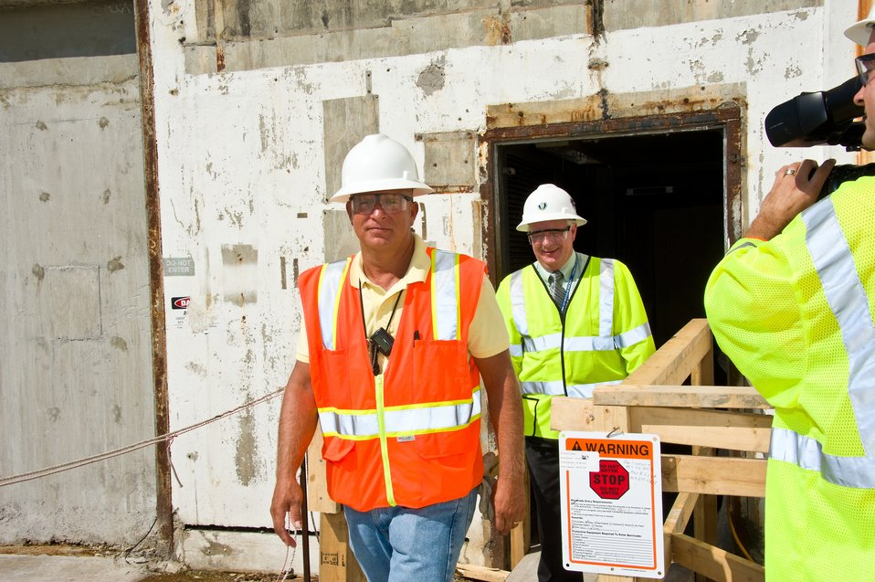 Recovery Act Workers Add Time Capsule Before Sealing Reactor for Hundreds of Years