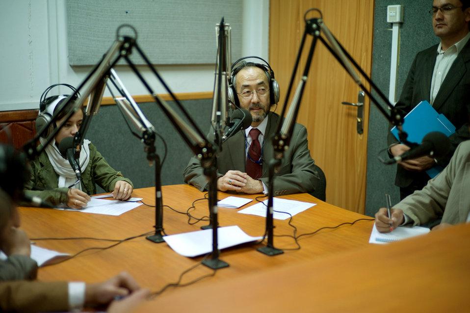 Ken in studio 1