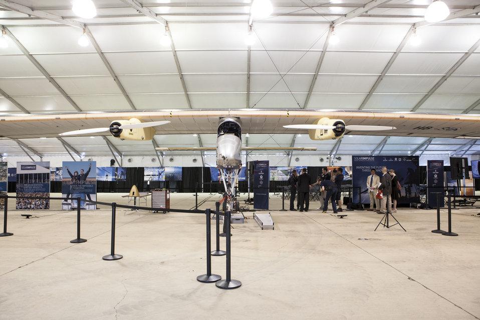 Solar Plane Lands in D.C.