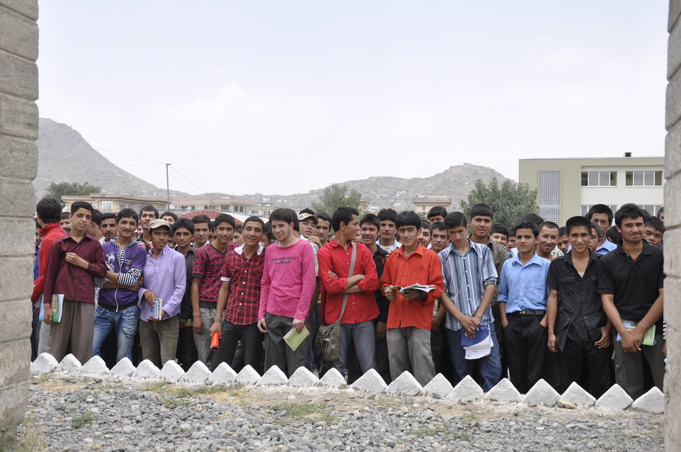 Ghazni High School in Kabul