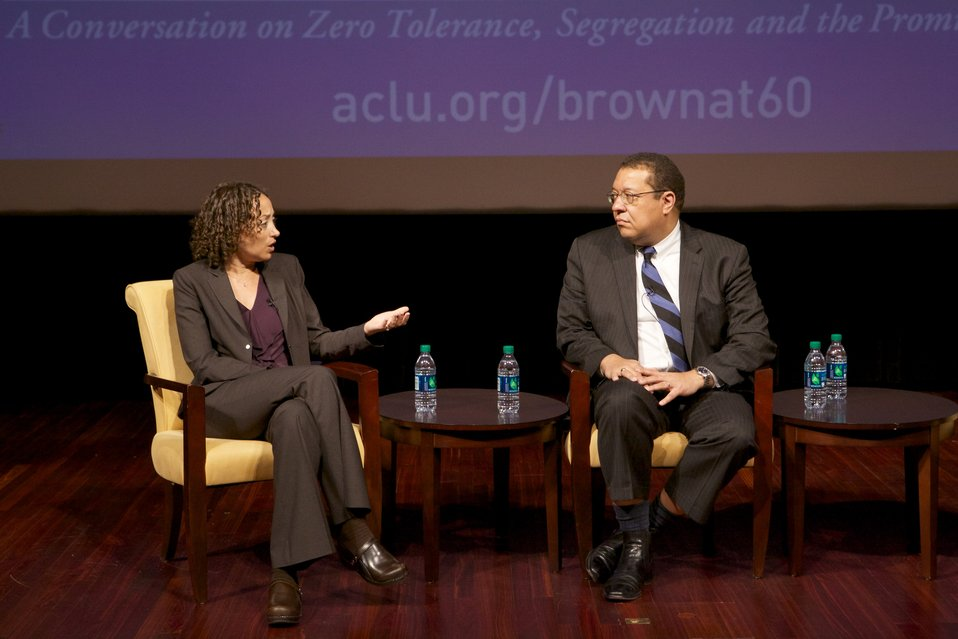 Brown at 60: Is Full Equality Within Our Grasp? A Conversation on Zero Tolerance, Segregation, and the Promise of Justice