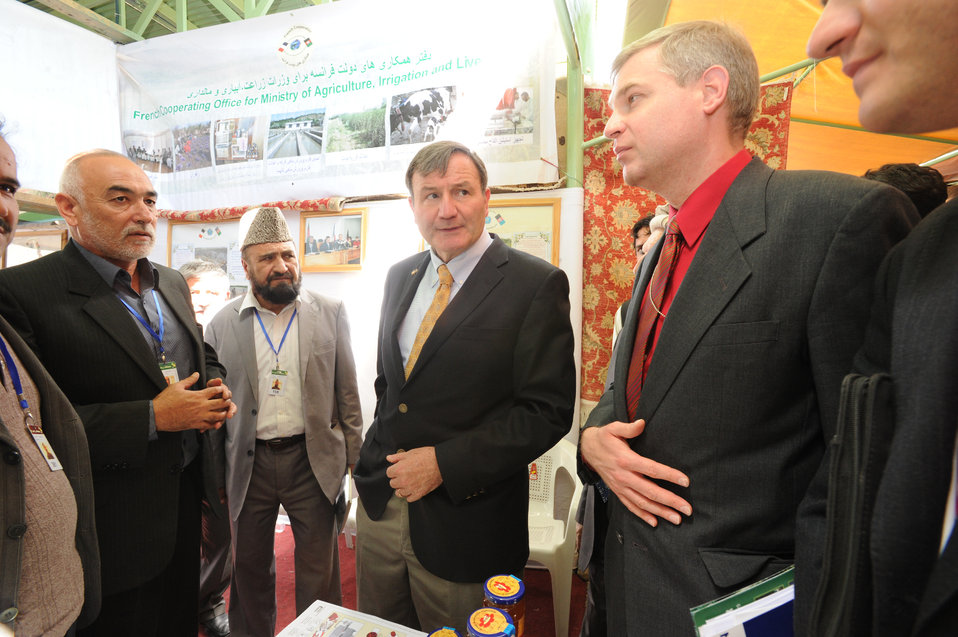 International Agricultural Fair Showcases Afghanistan's Growing Agriculture Sector