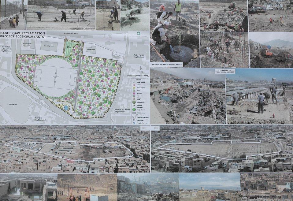 د باغ قاضی تاریخی بڼ د کابل په زوړ ښار کی بیا رغول کیږی