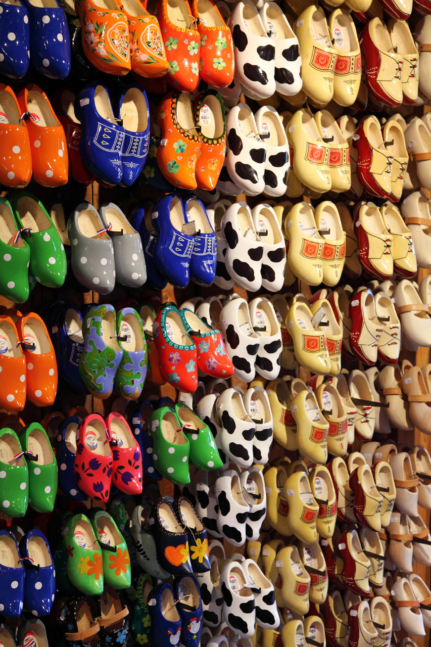 Colorful clogs